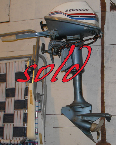 Evinrude 4 For Sale
